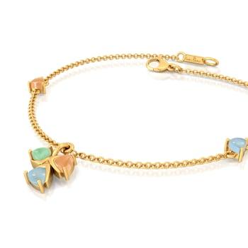 Confetti Cones Gemstone Bracelets
