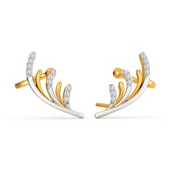 Into The Wild Diamond Earrings