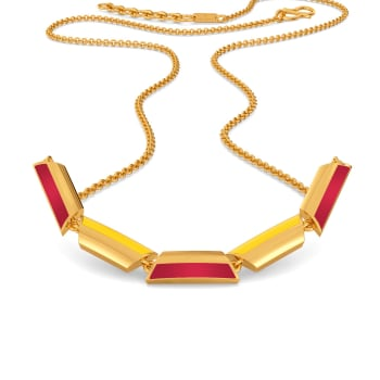 Preppy Peppy Gold Necklaces