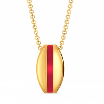 Play it Preppy  Gold Pendants