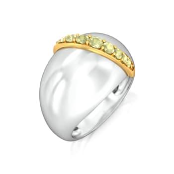 Dash of Lime Gemstone Rings