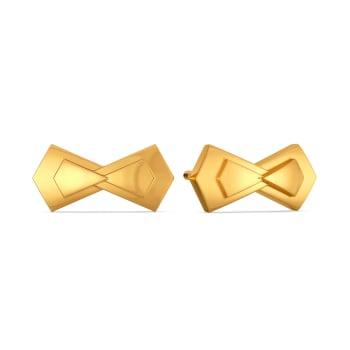 Spotlight Knots Gold Earrings