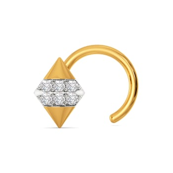 The Bow Bash Diamond Nose Pins