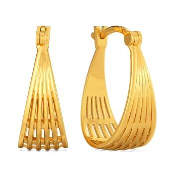 Jovial Weave Gold Earrings