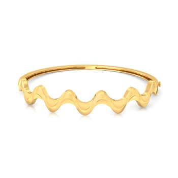 Tale of Kale Gold Bangles