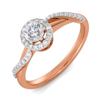 Wishing Waves Diamond Rings