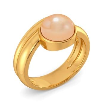 Peach Punch Gemstone Rings