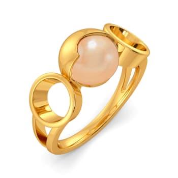 Peppy Peach Gemstone Rings