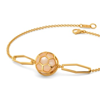 Peachy Vibes Gemstone Bracelets