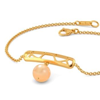 My Kinda Peach Gemstone Bracelets