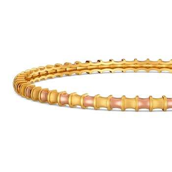 Safari Spunk Gold Bangles