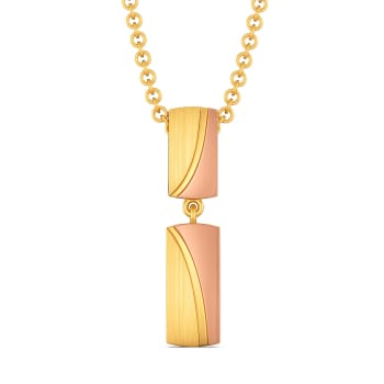 Off Duty Elegance Gold Pendants