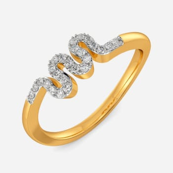 Weave The Way Diamond Rings