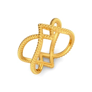 Romanesque Gold Rings