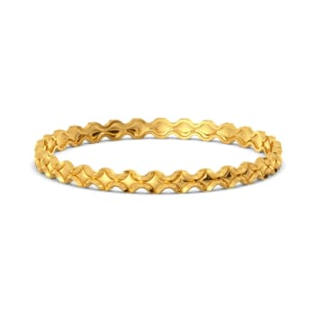 Bead Deed Gold Bangles