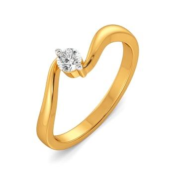 Swirl Story Diamond Rings