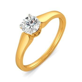 Solitaire Save Diamond Rings