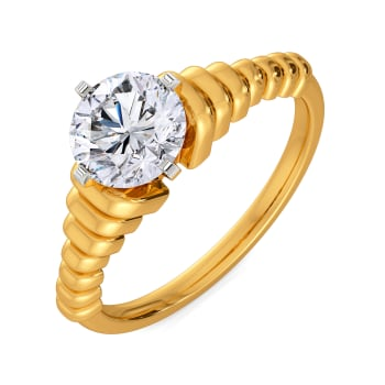 Rock N Roll Diamond Rings