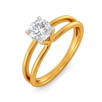 Pop the Question Diamond Rings