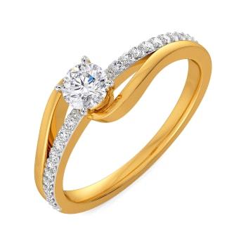 Love Loops Diamond Rings