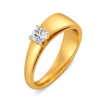 Adoring Angles Diamond Rings