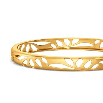 Silky Slinky Gold Bangles