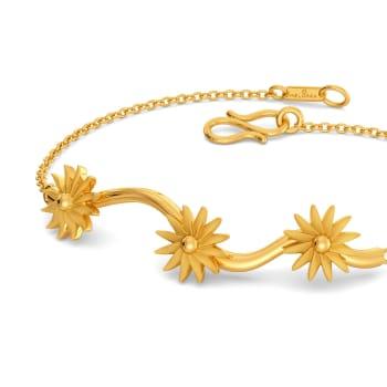 Pop of Sunshine Gold Bracelets