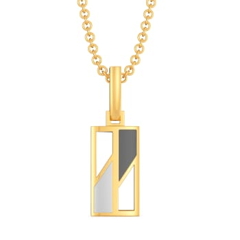 Power Grey Gold Pendants
