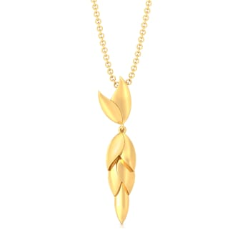 Wing-o-Spring Gold Pendants