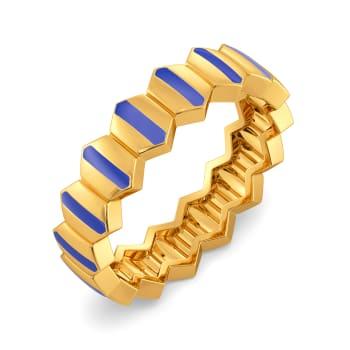 Live In Denim Gold Rings
