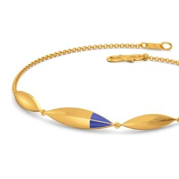 Carpe Denim Gold Bracelets