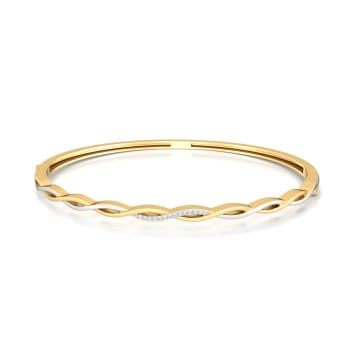 Entwined Spirit Diamond Bangles