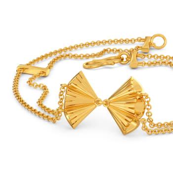 Tassel Ended Gold Bracelets