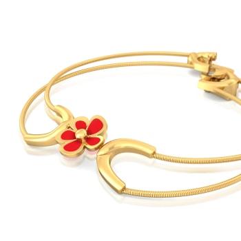 Flashdance  Gold Bracelets