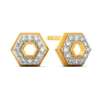 A Cocktail Tale Diamond Earrings