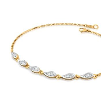 Dew Cue Diamond Bracelets