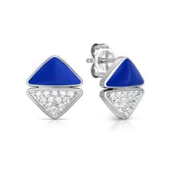 Four-Pocketer Diamond Earrings