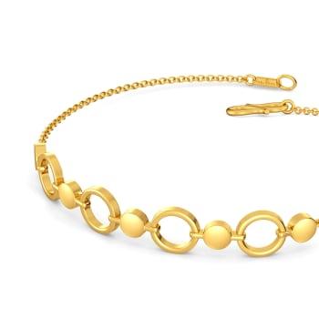 Sync in Sequin  Gold Bracelets