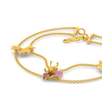 Boutonniere Gold Bracelets