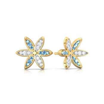 Flower Rush Diamond Earrings