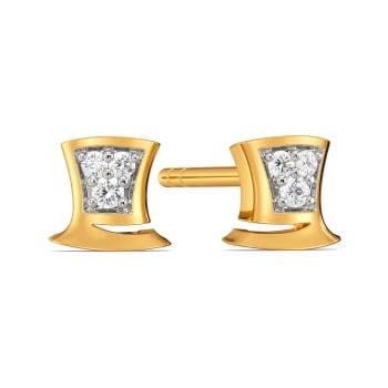Jolly Hats Diamond Earrings