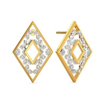 Lace Love Diamond Earrings