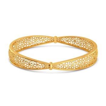Bar O Lace Gold Bangles