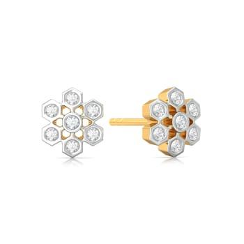Star Gaze Diamond Earrings