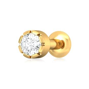 Va-Va Vroom! Diamond Nose Pins