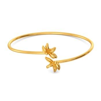 Spring O Wild Gold Bangles