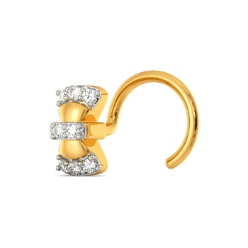 Bow Beauts Diamond Nose Pins