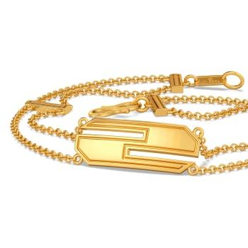 Breezy Short Suit Gold Bracelets