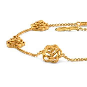 Rebel Love Gold Bracelets