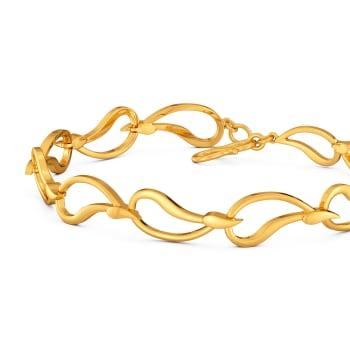 Wonder Wave Gold Bracelets